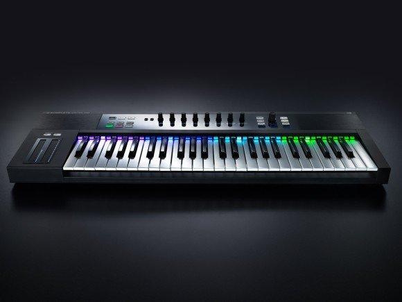 Mit den Keyboards der Kontrol-S-Serie geht es am besten