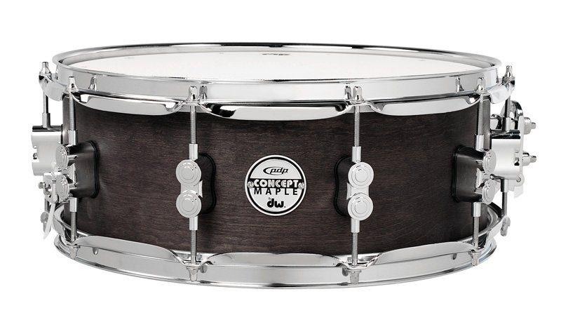 test drum workshop pdp black wax snare drums 14x5 5 und 12x6. Black Bedroom Furniture Sets. Home Design Ideas