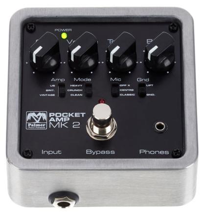 Palmer Pocket Amp MK 2 - Vorderseite