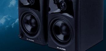 Test: M-Audio AV42, Multimedia-Lautsprecher