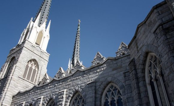 Der Aufnahmeort, die Saint Paul's Church