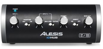 Test: Alesis iO Hub, Hub Control, USB-Audiointerface