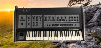 Blue Box: Oberheim OB-X, Analogsynthesizer