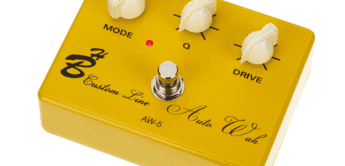 Test: Harley Benton Custom Line AW-5 Auto Wah, Effektpedal für Gitarre