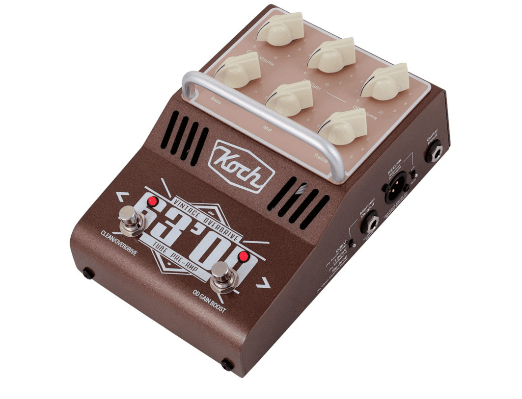 test koch amps 63 39 od guitar preamp effektger t f r