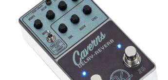 Test: Keeley Caverns Delay and Reverb, Effektgerät für Gitarre