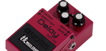 Test: BOSS DM-2w Delay, Effekpedal