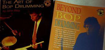 Rezension: John Riley,  Bop Drumming 1+2