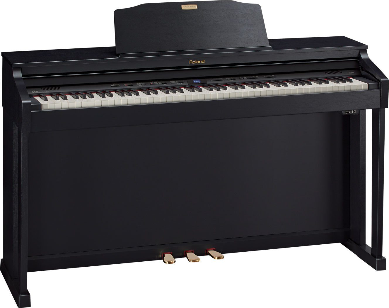 vergleichstest digitalpianos mittelklasse kawai cn34 roland hp 504 yamaha clp 525. Black Bedroom Furniture Sets. Home Design Ideas