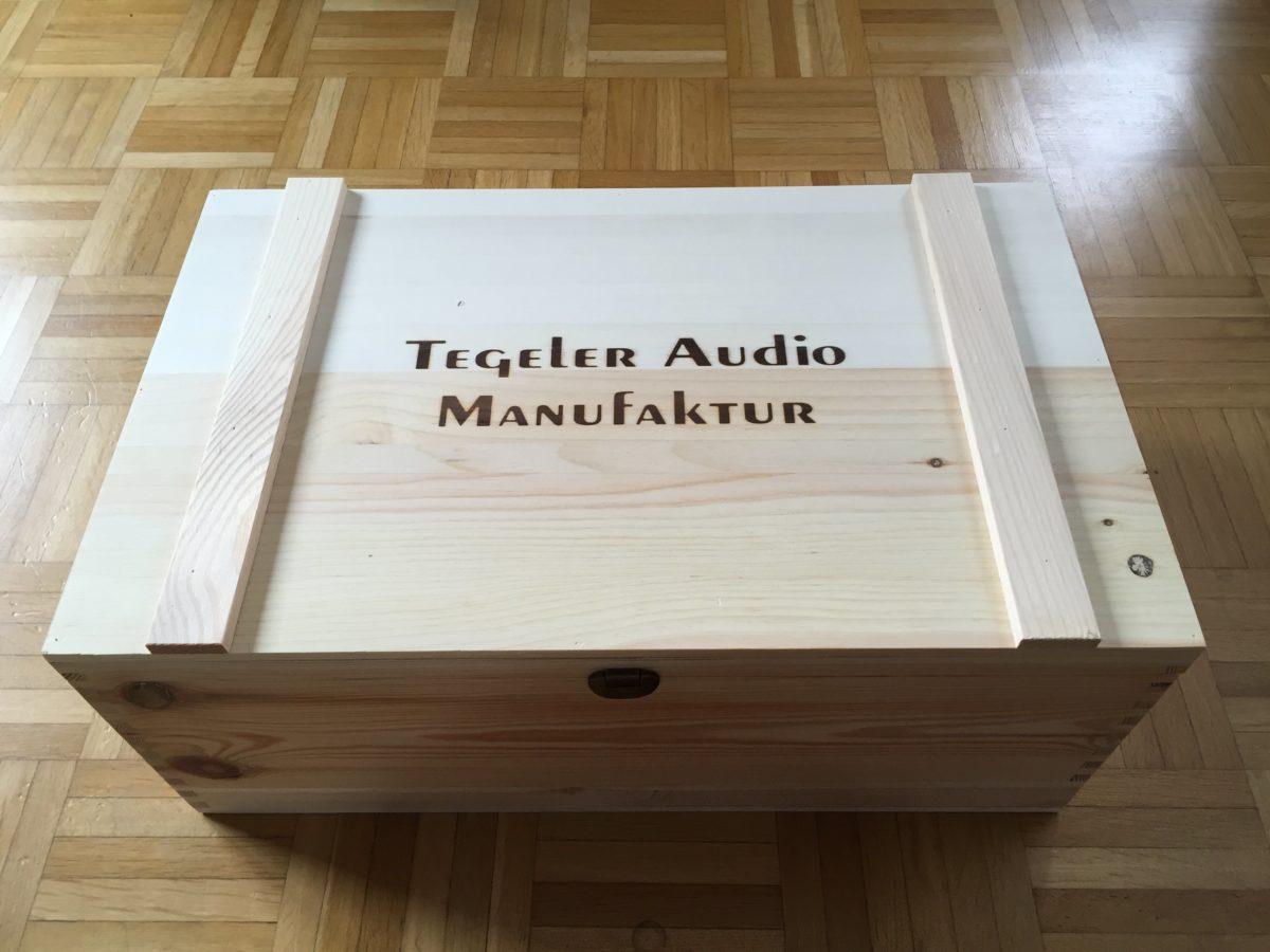 Tegeler Audio TSM - Verpackung 1