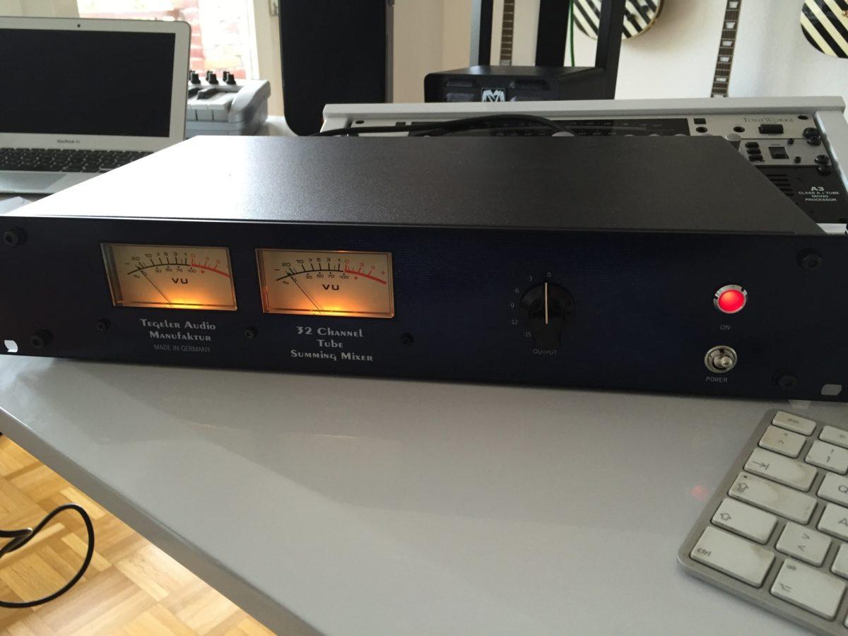 Tegeler Audio TSM - Front 2