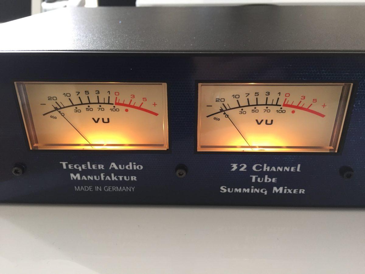 Tegeler Audio TSM - VU Meter