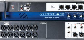 Test: Soundcraft Ui16, Digitalpult/Stagebox