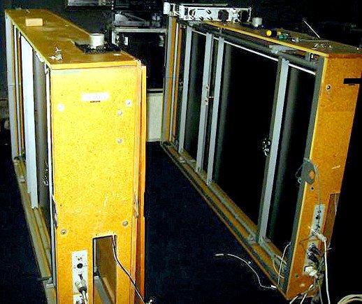 Zwei EMT 140 Hallplatten