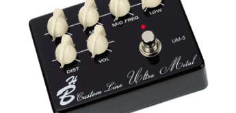 Test: Harley Benton Custom Line UM5, Effektgerät für Gitarre