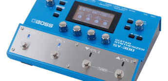 Test: BOSS SY-300, Gitarrensynthesizer