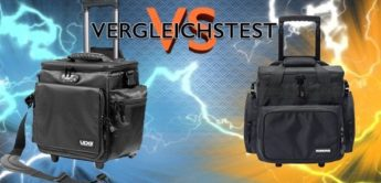 Test: UDG Ultimate SlingBag Trolley DeLuxe vs. Magma LP-Trolley 65 Pro, DJ-Bags