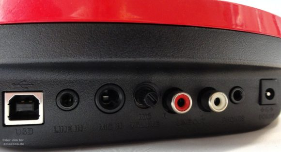 Casio XW-PD1 Anschlüsse