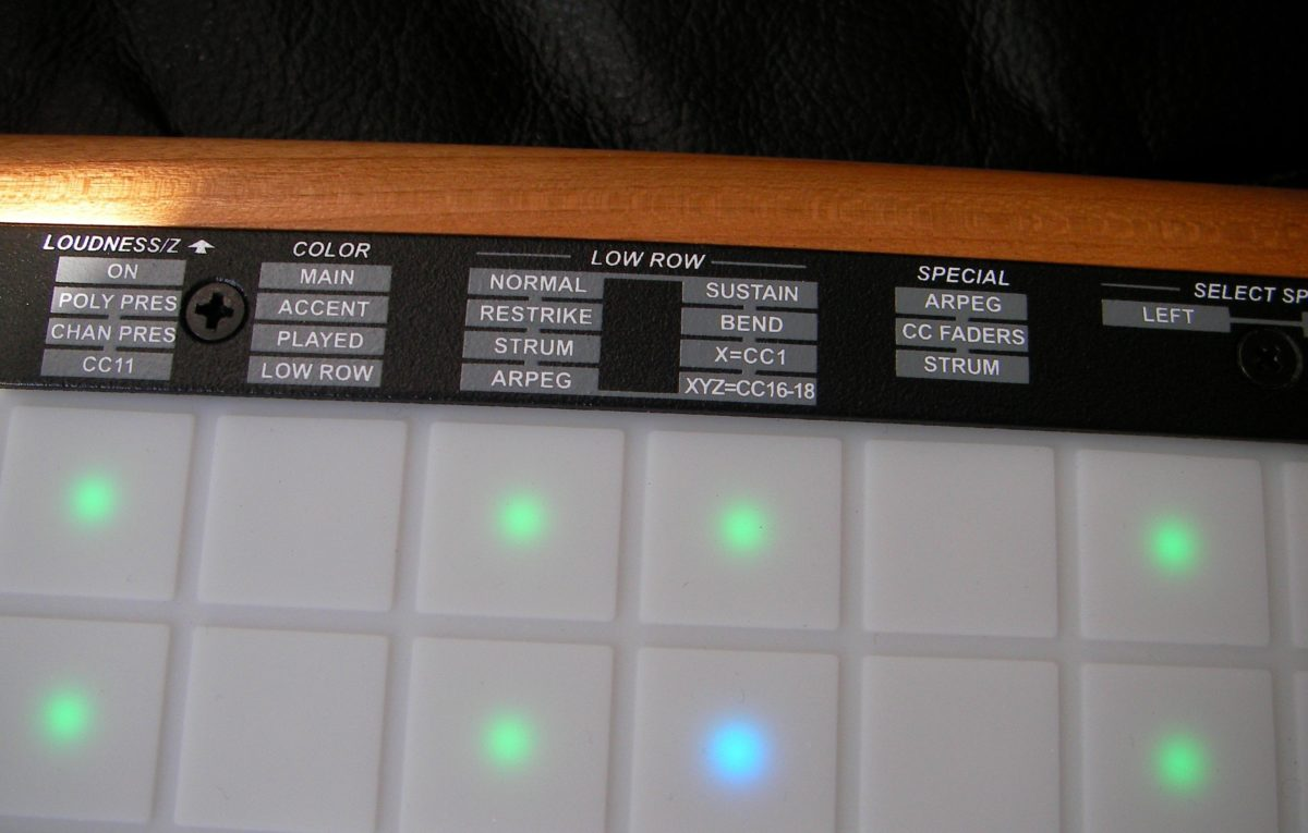 LinnStrument functions 4