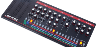 Test: Roland JX-03, VA-Synthesizer
