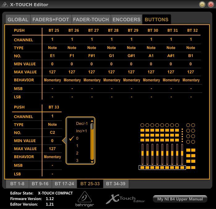 behringer x touch compact manual