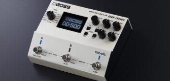 Test: BOSS DD-500, Digitaldelay für Gitarre