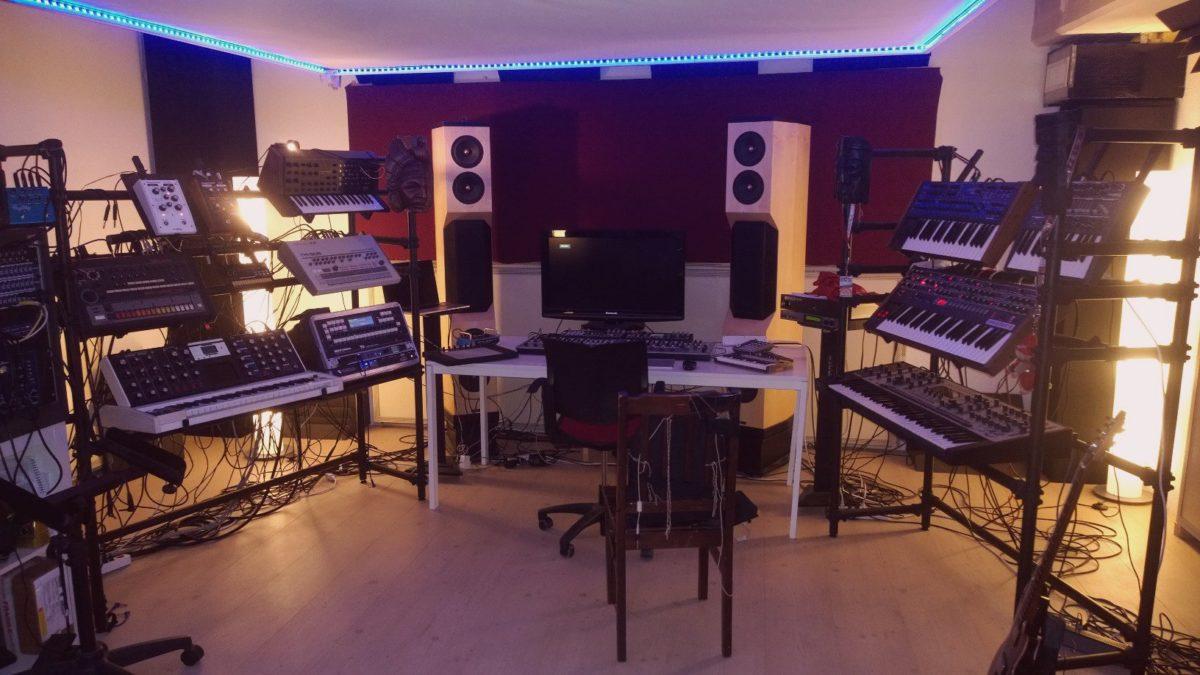Rolands Studio aus einer anderen Perspektive
