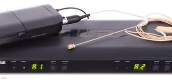 Test: Shure BLX188/MX53, Headset-Funksystem