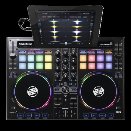 Das Reloop Beatband zwei ist die neueste Version des kompakten Ipad-Controllers.