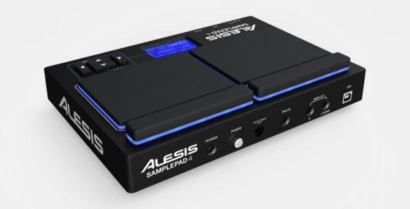 Alesis SamplePad 4 rear