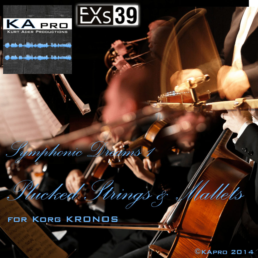 EXs39 Symphonic_Dream_1_Plucked_Strings_&_Mallets_COVER_v3