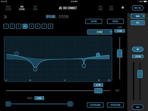 SRX Connect App - EQ