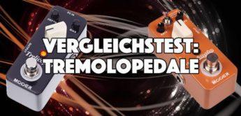 Vergleichstest Tremolo-Pedale: Mooer Varimolo und Trelicopter,