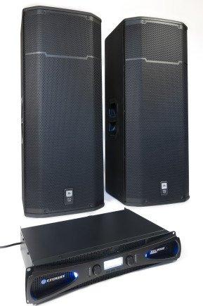 JBL SRX 425 und Crown XLS 2002 vereint
