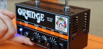 Test: Orange Micro Dark, Gitarrenverstärker