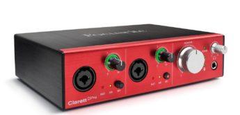 Test: Focusrite Clarett 2Pre, Thundebolt Audio-MIDI-Interface