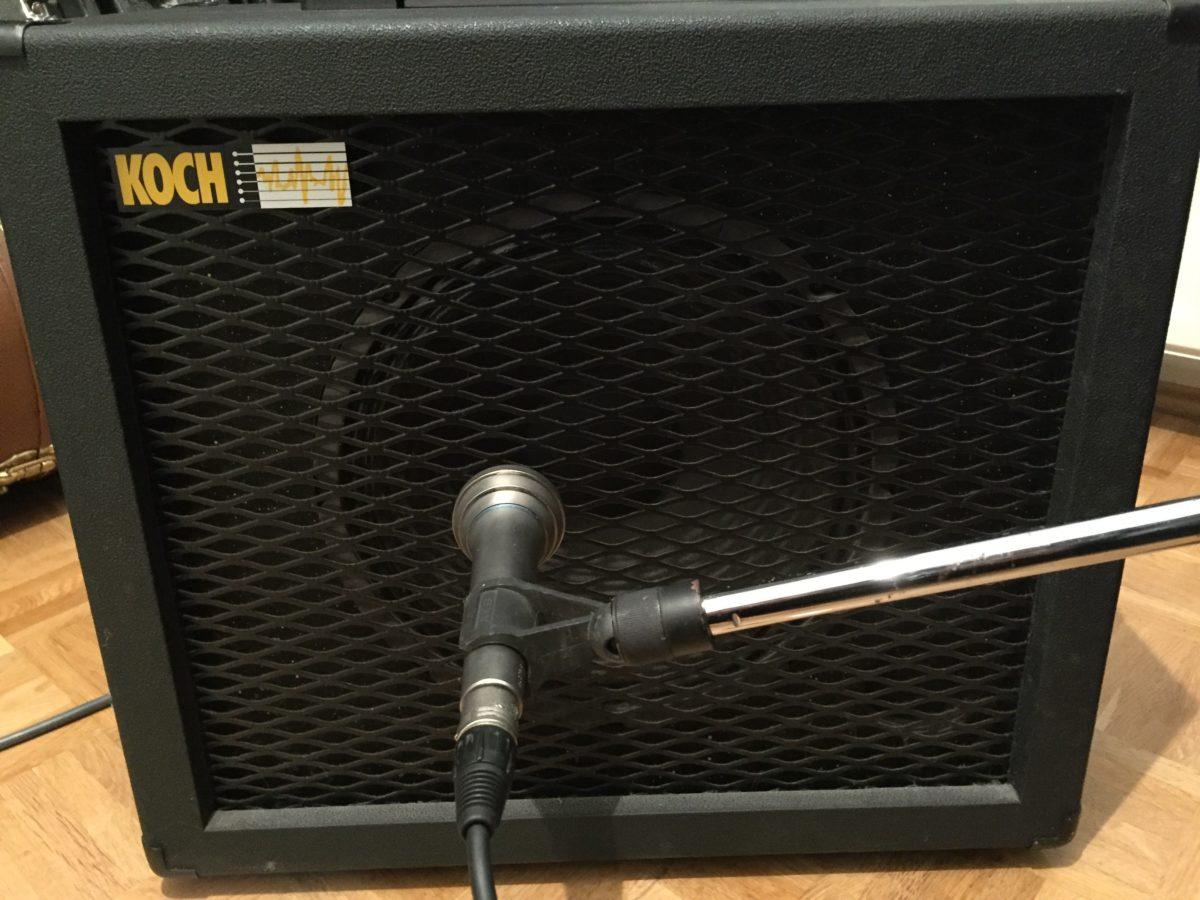 Recordings Gitarre Dynamisches Mikrofon Kalotte