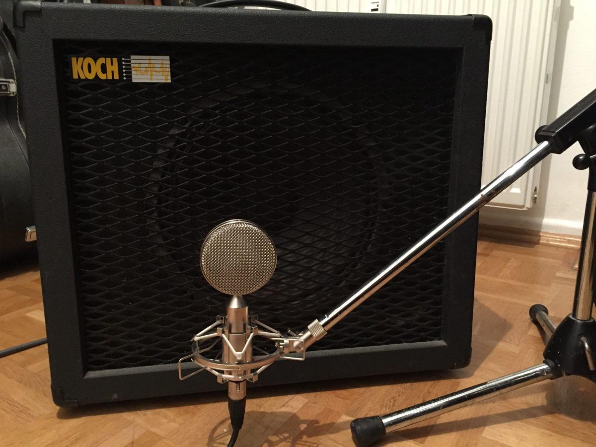 Recording Bändchenmikrofon