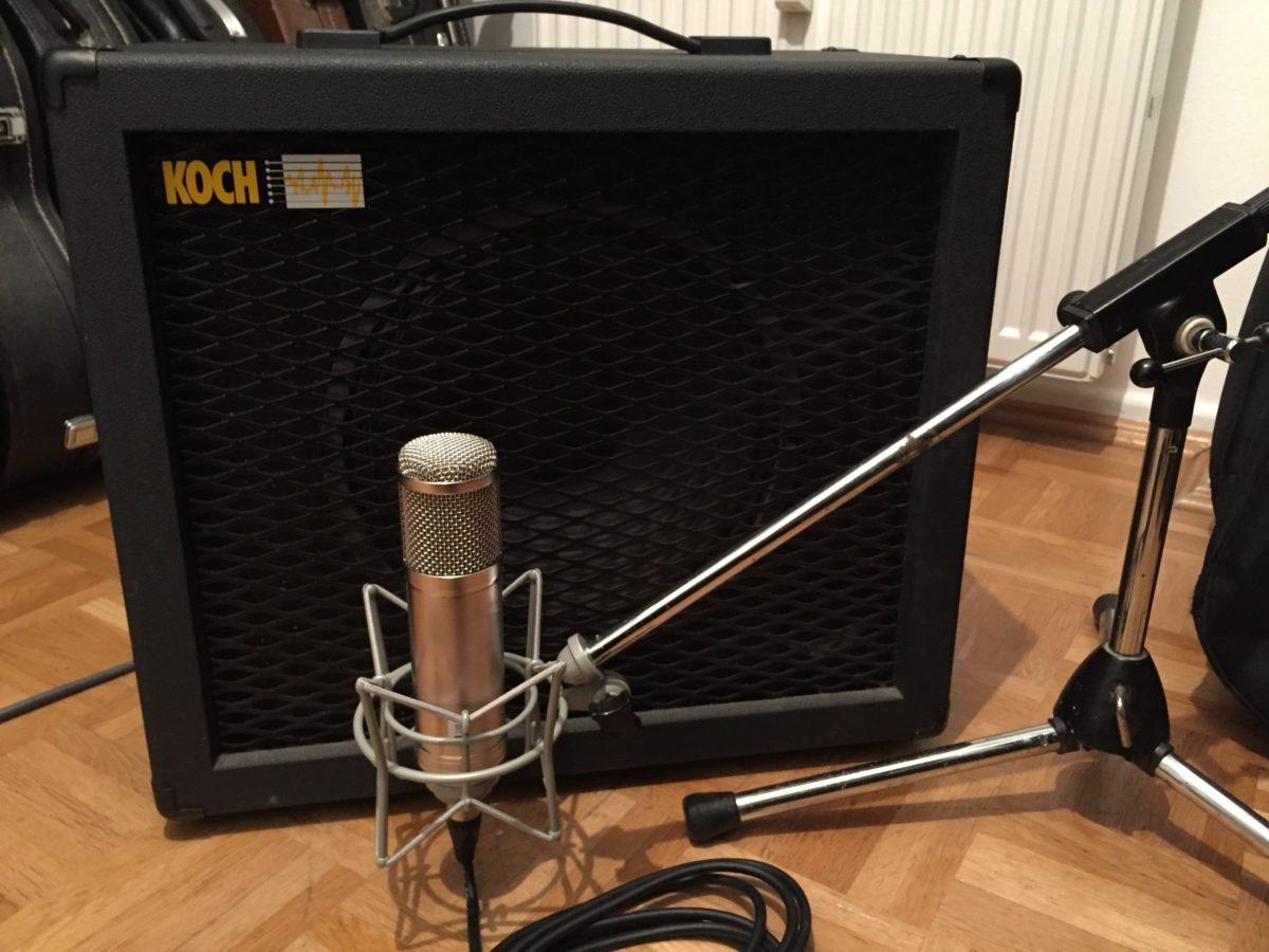 Recording Roehren Kondensatormikrofon
