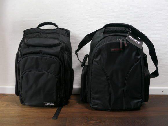 Zweimal Digi Backpack: links UDG, rechts Magma