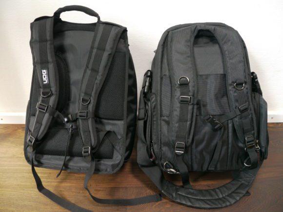Zwei schöne Rücken: so sehen UDG (links) und Magma von hinten aus