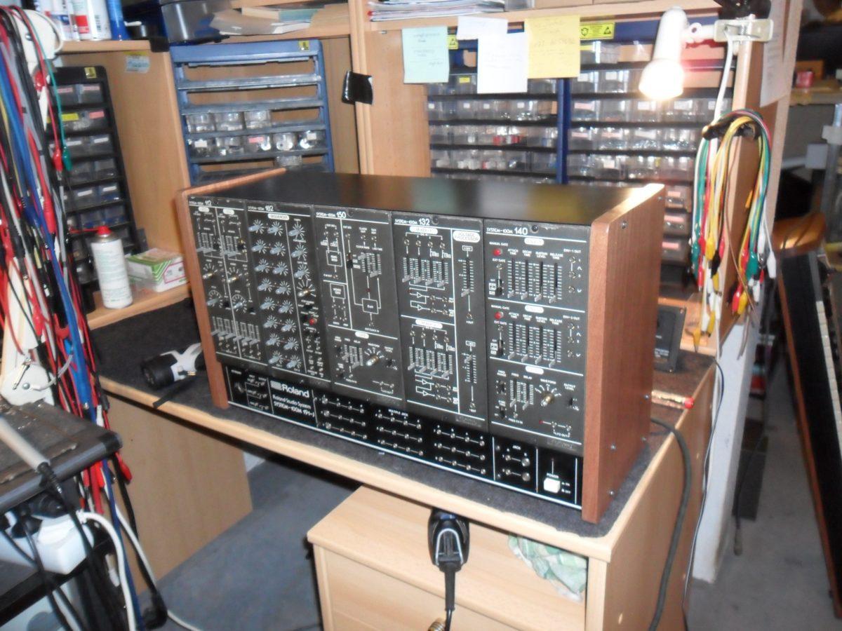 Fertig, wie neu: Das Roland System 100M