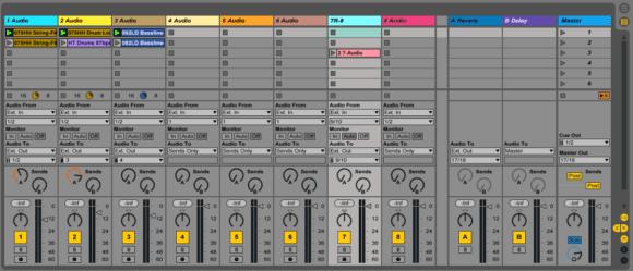 MX-1 im Live Control Modus