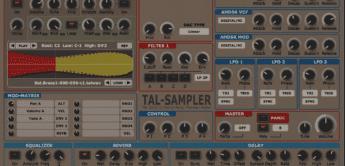 Test: TAL-Sampler, Vintage-Sampler Emulation