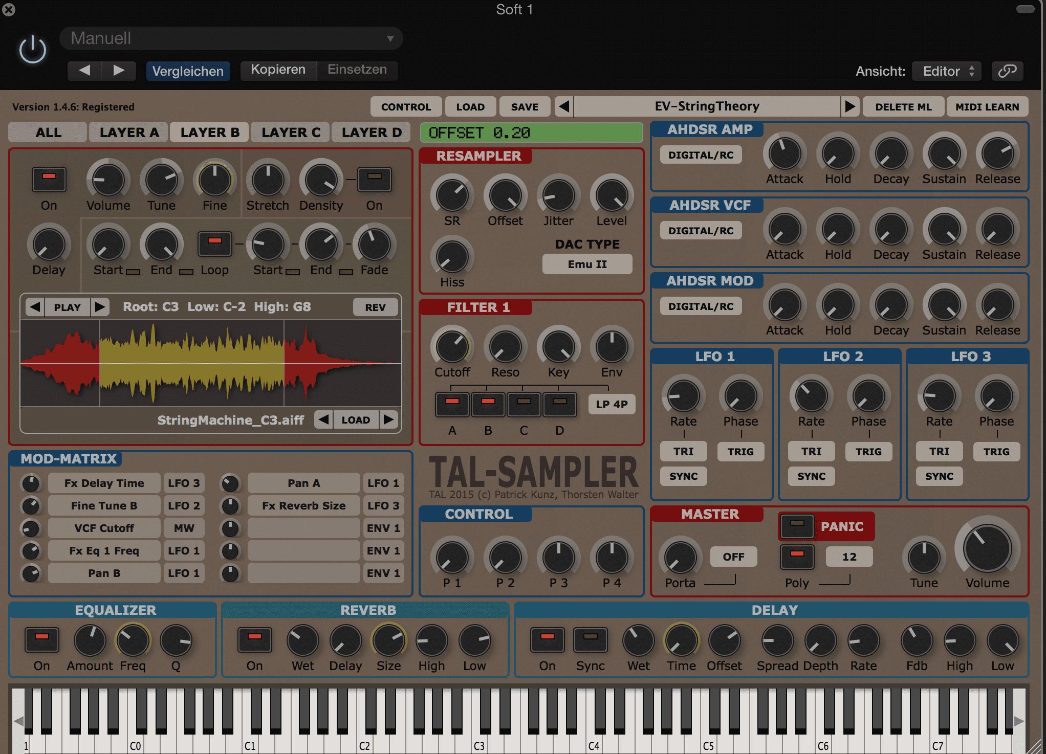 Test: TAL-Sampler, Vintage-Sampler Emulation - AMAZONA.de