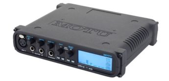 Test: MOTU UltraLite AVB, USB-Audiointerface