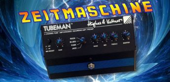 Zeitmaschine: Hughes & Kettner Tubeman, Gitarren Preamp