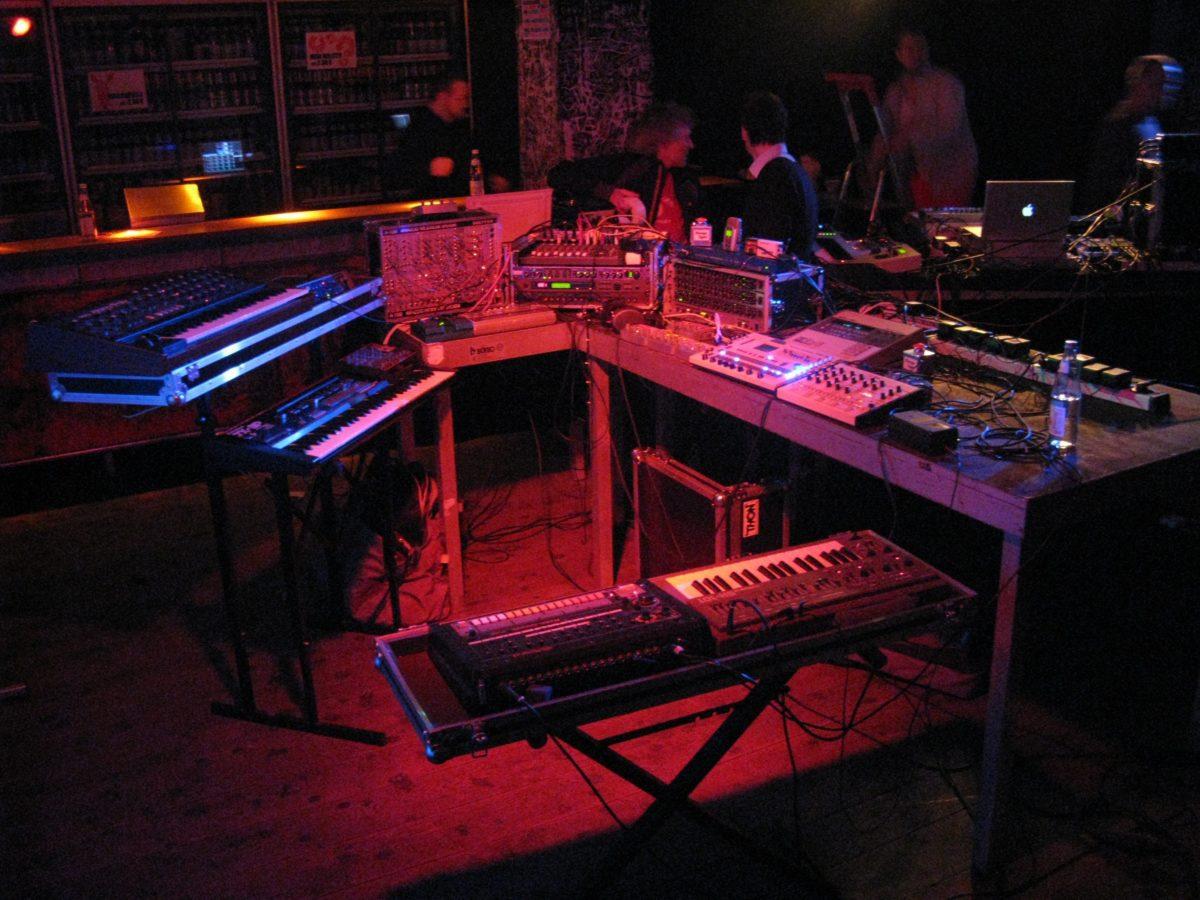 Florians Live-Setup Rote Sonne