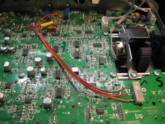 Florians MiniBrute Pulse-Adjust Modifikation