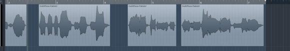 So könnte eine sauber geschnittene Vocalaufnahme aussehen!